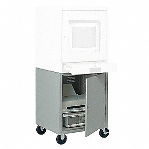 Computer Enclosure,59 In,Gray