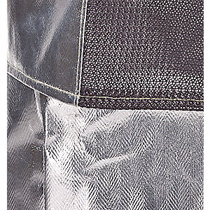 Aluminized Jacket,XL,Rayon