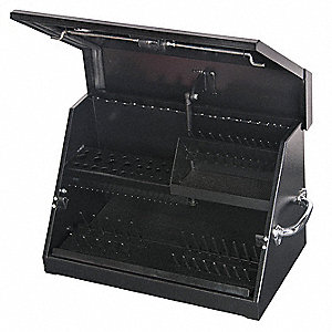 "Portable Tool Box, 16 ga. Steel, 22 1/2"" Overall Width x 13"" Overall Depth"