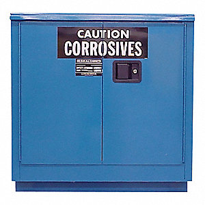 Safety Cabinet,Acid and Corrosives,30 gl