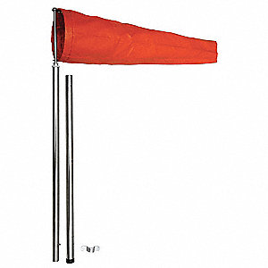 Windsock,Orange,6-1/2 In.