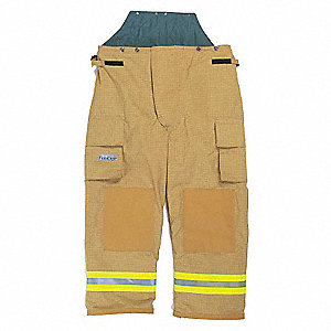 "PBI/Matrix Turnout Pants, Size: L, Fits Waist Size 44 to 46"", 29"" Inseam"