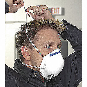 Disposable Respirator,N95,S/M,PK20