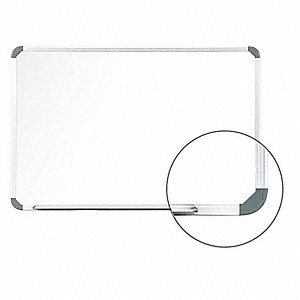 Magnetic Dry Erase Board, 18 x 24 In.