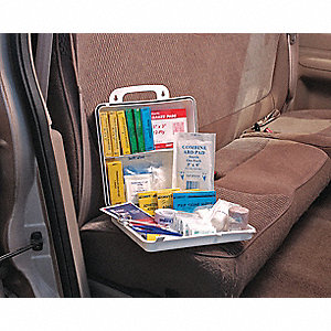 First Aid Kit,Unitized,102Pcs,15 Ppl