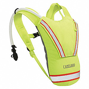 "Lime Hydration Pack, 70 oz./2L Capacity, Depth 3.1"", Length 15"", Width 9.8"""