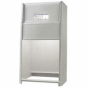 Universal Fume Hood w/Expl Light, 24 In.