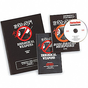 Emergency Training DVD,Bio Wpns Threat