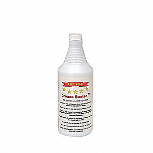 Unscented Grease Cleaner, 32 oz. Bottle, Package Quantity 12