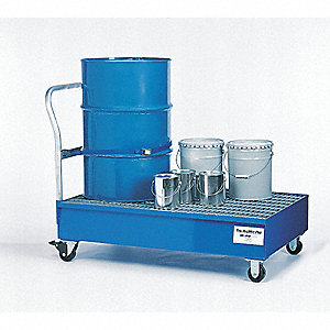 Spill Containment Cart,66 Gal