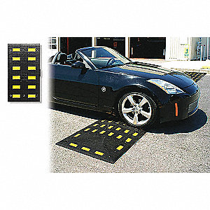 Speed Hump,19-1/2 x 2-1/4 x 35-1/2 In
