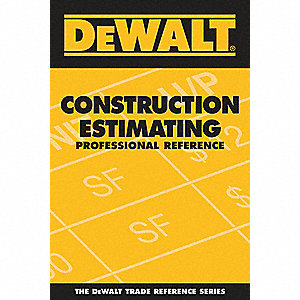 Estimating Reference Book, Residential Construction, English, General Reference, Paperback