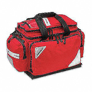 Professional Trauma Bag,Red