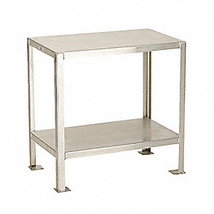 Work Stand,SS,36 In W,24 In D