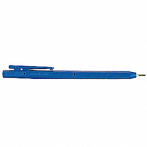 Metal Detectable Stick Pen,Black,PK50