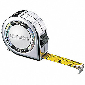 Steel 35 ft. SAE Tape Measure