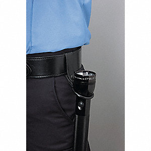 Black C Cell Mag-Lite Holder, For Use With C-cell Mag-lite Flashlight