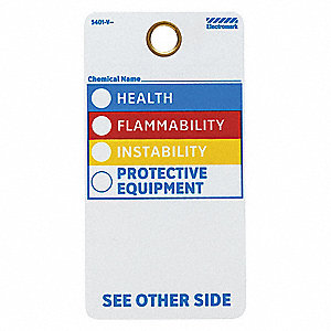 HMIG Label,5-3/4 In. H,3 In. W,PK25