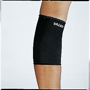 Elbow Support,XL,Black,Pull-Over