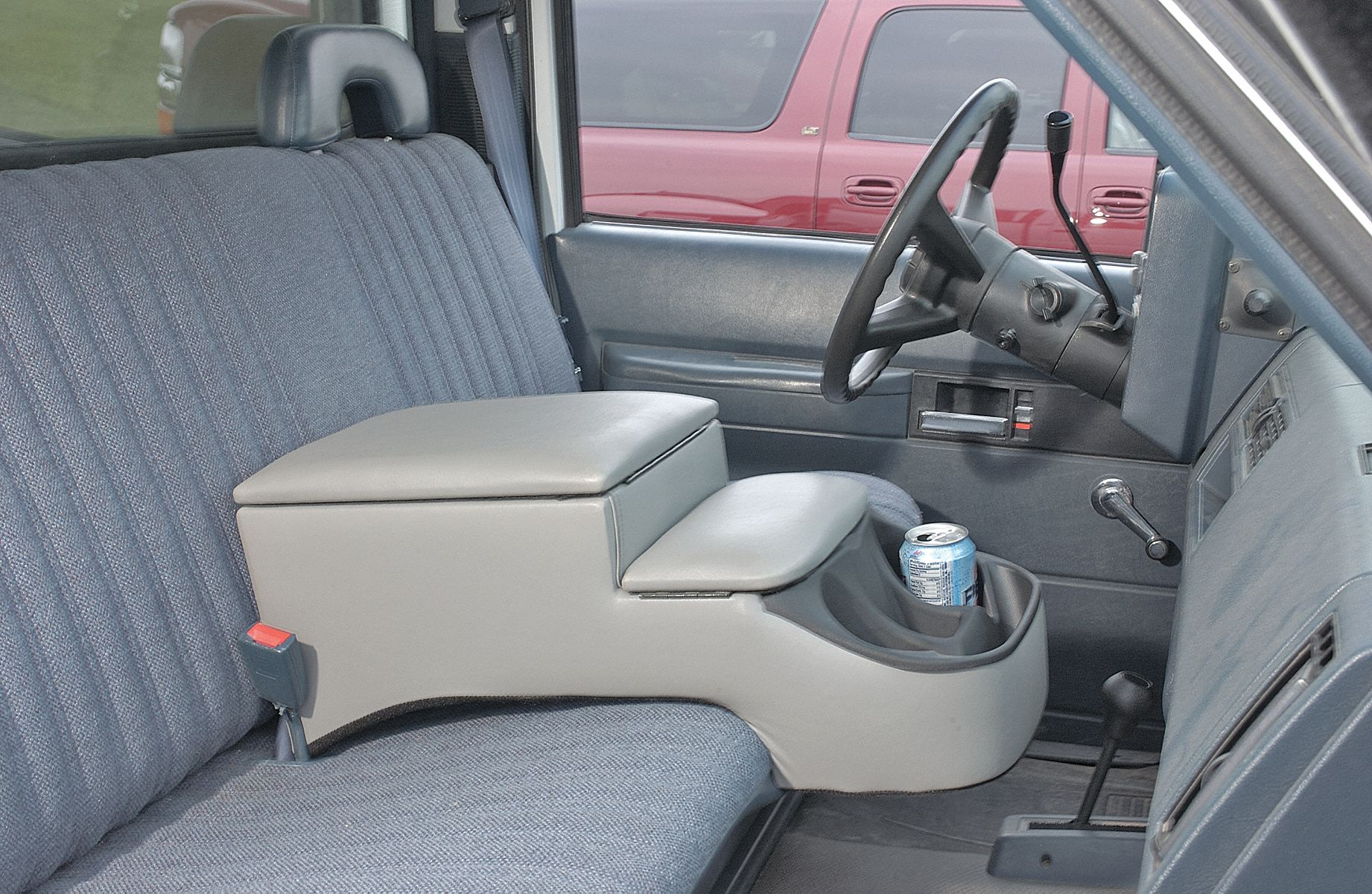 Very Impressive portraiture of Carolina Consoles Truck Seat Console Gry 10 1/2x11 3/4x25 Model: 380  with #874459 color and 1842x1200 pixels