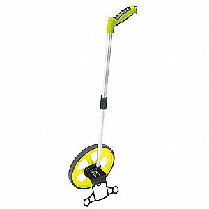 Measuring Wheel,w/Kickstand,10 In
