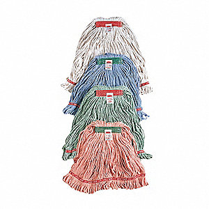 Cotton/Synthetic Blend Blend Mop, 1 EA