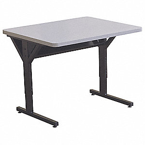 Computer Desk,36 x 33-1/2 x 30 In,Black