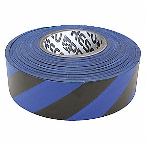 Flagging Tape, Diagonal Stripes