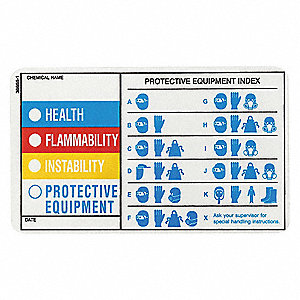 HMIG Label,3 In. H,5 In. W,PK25