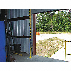 Lift Gate,Steel,Length 6 Ft