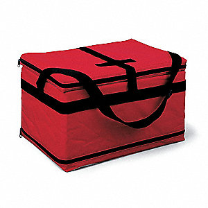 Transporter,Nylon,.82 cu. ft.,Red