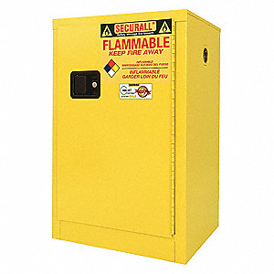 Safety Cabinet,Flammable,12 gal.