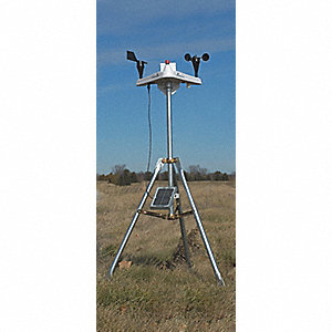 Weather Station w/Anemometer, -40 to 122° Temp. Range (F)