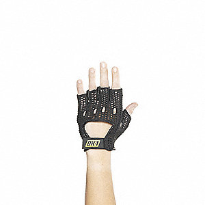 Anti-Vibration Gloves, Black, S, PR 1