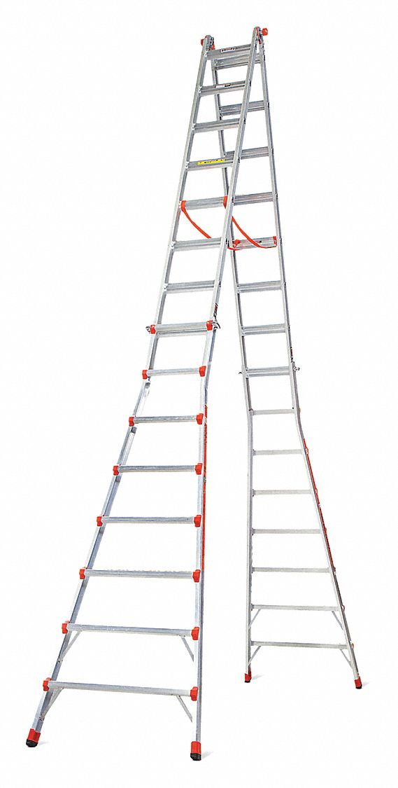 Little Giant 8 To 15 Ft 300 Lb Load Capacity Aluminum