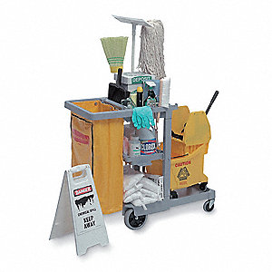 Spill Kit,16 gal.,Universal,Cart