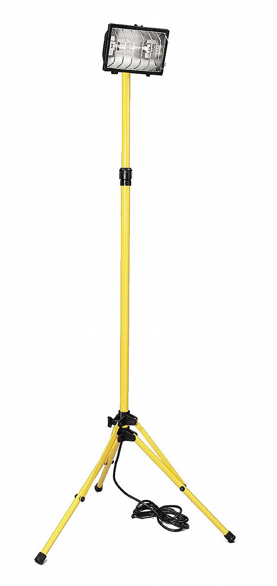 Warner Tool Products Temporary Job Site Light Floor Stand