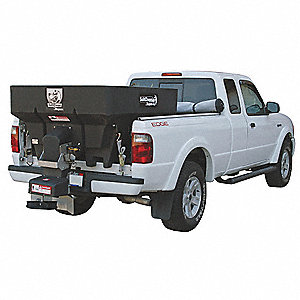 Tailgate Spreader, 6.75 cu. Ft. Capacity, 5 to 30 ft. Spread Width, Bed Mount Type