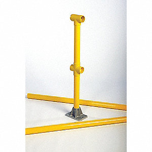 Guard Rail Line Post Kit,6 Ft.