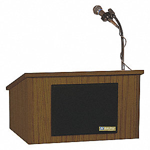 Lectern,Tabletop Wired,14 In.H