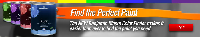 Find the perfect paint with the new Benjamin Moore Color Finder