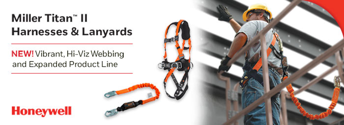 Miller Titan II Harnesses & Lanyards - Honeywell