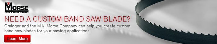 Need a Custom Band Saw Blade? - Learn More