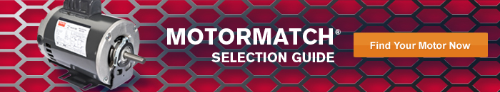 The New MotorMatch Selection Guide is Here - Get Your Motor Now