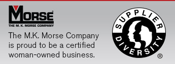 The M.K. Morse Company Is proud to be Certified Diversity Supplier