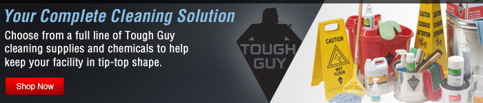 Your Complete Cleaning Solution - Shop Now Tough Guy products