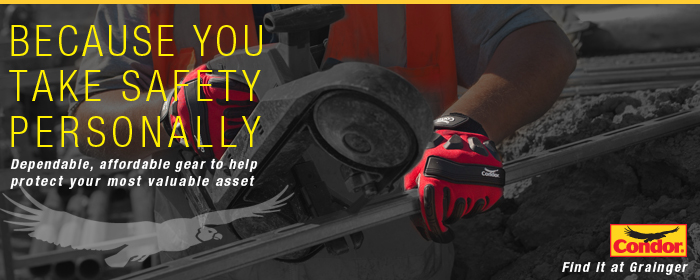 Condor - Dependable, affordable gear to help protect your most valuable asset