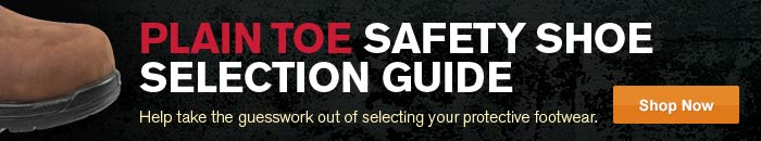 Plain Toe Safety Shoe Selection Guides.