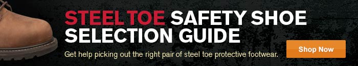 Steel Toe Safety Shoe Selection Guides.