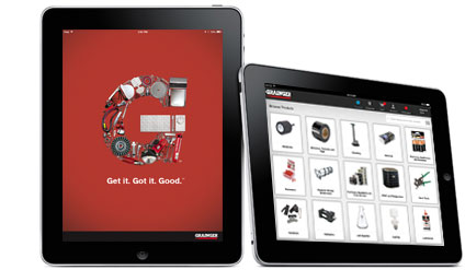Grainger iPad App